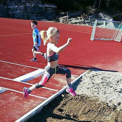 Påmelding friidrett