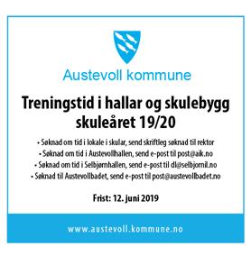 Søk Om Treningstid I Hall Og Skulebygg 2019/20